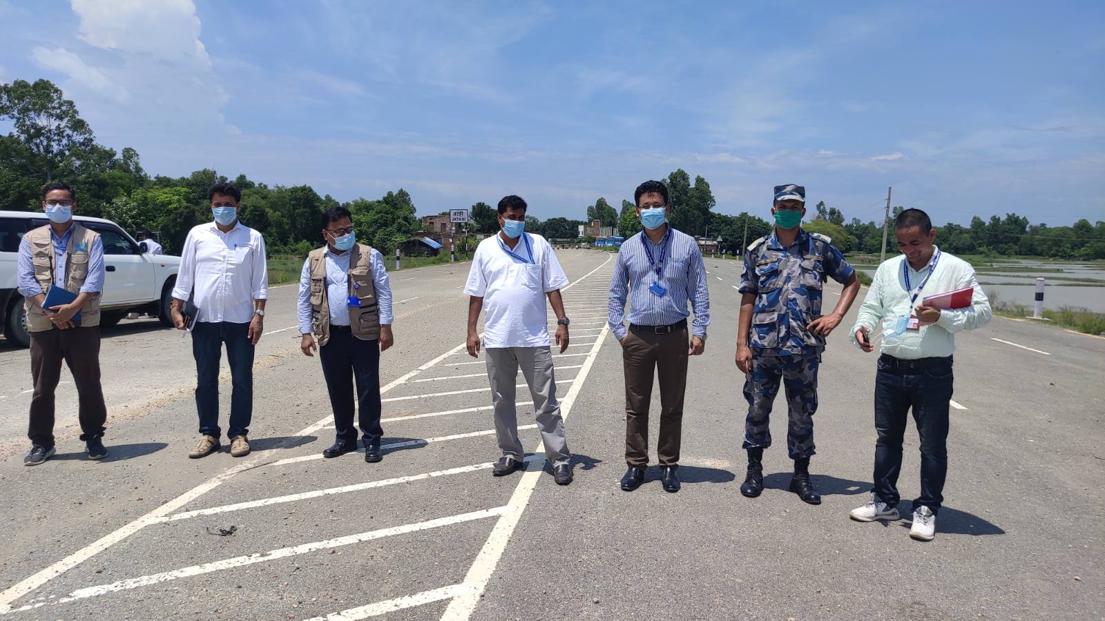 Province 2 visit for COVID-19 Inspection and Monitoring Activities , 2077/04/17 To 4/25